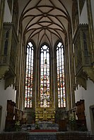 2019 Interior of the Cathedral of Saints Peter and Paul in Brno 01.jpg
