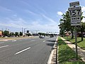 2020-08-05 15 05 07 View south along Maryland State Route 157 (Merritt Boulevard) just south of German Hill Road in Dundalk, Baltimore County, Maryland.jpg