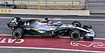 2020 Formula One tests Barcelona, Mercedes-AMG F1 W11 EQ Performance, Hamilton.jpg