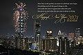 2021 Taipei 101 New Year Fireworks.jpg