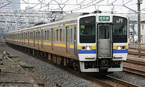 211 series - 211-3000 series in Chiba area livery, October 2006