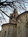 242 Monestir de Sant Cugat del Vallès, absis i campanar.JPG