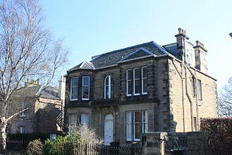 James Gordon MacGregor - MacGregor's house at 24 Dalrymple Crescent, Edinburgh