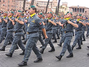 Counter-terrorism Rapid Response -  Guardia di Finanza Antiterrorism and Rapid Response Service