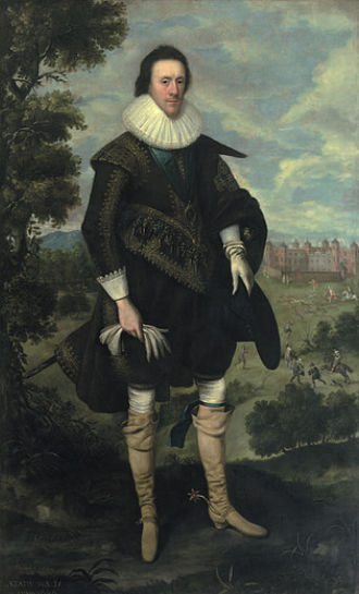 William Cecil, 2nd Earl of Salisbury - The 2nd Earl of Salisbury by George Geldorp.