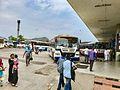 301-Vijayawada Amaravathi bus at PNBS Arrival block.jpg