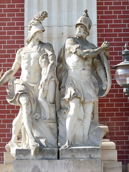 3 Odysseus und Diomedes Neues Palais Sanssouci Steffen Heilfort