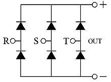 http://upload.wikimedia.org/wikipedia/commons/thumb/a/a5/3_fase_bridge_rectifier.jpg/220px-3_fase_bridge_rectifier.jpg