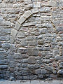 44 Casa jueva al c. Arc de Sant Ramon del Call, arc cec.JPG