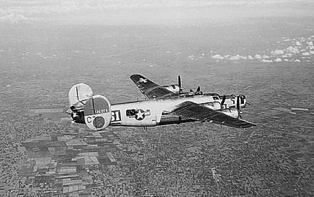 B-24 of the 451st Bomb Group