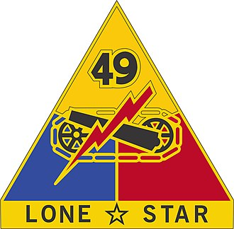 49th Armored Division - Image: 49th AD DUI