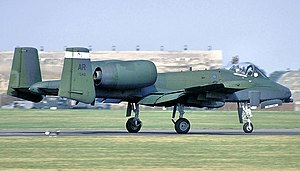 509th Tactical Fighter Squadron - 509th TFS A-10A Thunderbolt II - 76-0548, about 1990