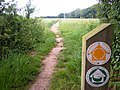 5 Weavers Way Footpath near to Cromer 3 July 2013.JPG