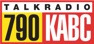 KABC (AM) - Former 790 KABC logo, until 2016