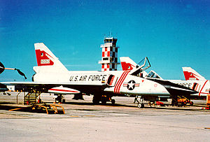 87th Flying Training Squadron - Image: 87th Fighter Interceptor Squadron F 106 flightline