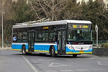 Plant industry trolley buses