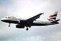95dg - British Airways Airbus A319-131; G-EUPJ@LHR;01.06.2000 (5456150192).jpg