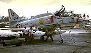 A-4E VMA-211 NAS Cubi Point 1971