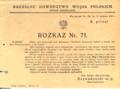 AGAD Rozkaz nr 71 gen Rozwadowskiego z 14 sierpnia 1920.png