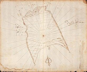 Dassen Island - Image: AMH 5099 NA Map of Dassen Island