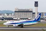 ANA Wings, B737-500, JA305K (21915285722).jpg