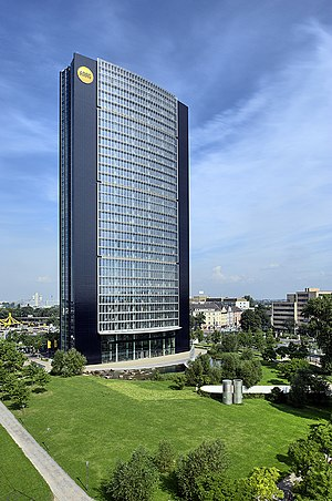 Arag-Tower - Image: ARAG Tower