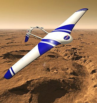 Mars aircraft - ARES concept