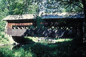 Ashokan Bridge - The bridge crosses Esopus Creek