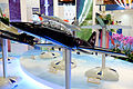 AT-3 Max Advanced Trainer Model Display at AIDC Booth 20150815a.jpg