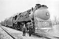 ATSF 3460 Blue Goose Streamlined On The Winter.jpg