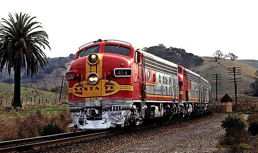 Atchison Topeka And Santa Fe Railway Wikipedia The