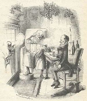 Smoking Bishop - Image: A Christmas Carol Scrooge and Bob Cratchit