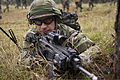 A Czech soldier provides cover for fellow troops during exercise Combined Resolve Nov. 11, 2013, at the Joint Multinational Readiness Center in Hohenfels, Germany 131111-A-WB953-977.jpg