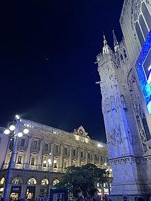 Piazza Del Duomo Milan Wikipedia
