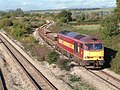 A Short Steel Train Heads East - geograph.org.uk - 763308.jpg