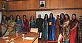 A delegation of CPWD Officers' Wives Association led by its President, Mrs. Rekha Gupta called on the Vice President, Shri Mohd. Hamid Ansari, in New Delhi on March 14, 2014.jpg
