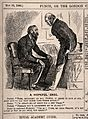 A doctor advising his patient to give up life's pleasures - Wellcome V0011409.jpg