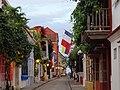 A dos cuadras de la plaza de San Diego. Cartagena. Colombia.JPG