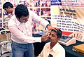 "A free Eye testing camp, organized by Rotary Club, Sangamner, at the ""Bharat Nirman Lok Mahiti Abhiyan"", in Sangamner, dist. Ahmednagar, Maharashtra on February 27, 2012.jpg"