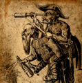 A man with a telescope riding on another man's back - cropped indexed contrast.png
