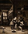 A surgeon in his workroom extracting stones from a patients Wellcome V0016246.jpg