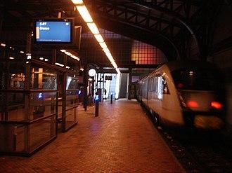 Aarhus Commuter Rail - Image: Aarhus Nærbane Til Grenaa