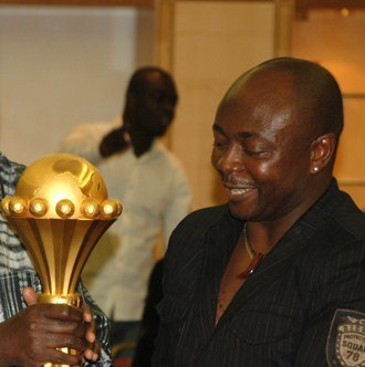 Football in Ghana - Abédi Pelé is a three time African Footballer of the Year winner. He is Ghana's most successful football player and highest goalscorer of the Ghana national team to date, and has received the Golden Foot award.