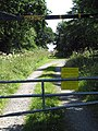 Access to Foxley Wood carpark - geograph.org.uk - 895708.jpg