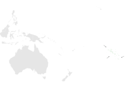 Acrocephalus atyphus distribution map.png