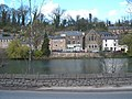 Across the pond, Cromford, a view with bookshop - geograph.org.uk - 1243344.jpg