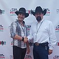 Actor Adam Gold (left) and actor Bob Fanucchi (right) at the Wild Bunch Film Festival, 2016.jpg