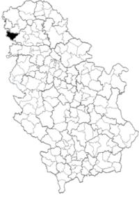 mapa srbije opstine Opština Bač   Wikipedia mapa srbije opstine