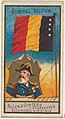 Admiral, Belgium, from the Naval Flags series (N17) for Allen & Ginter Cigarettes Brands MET DP834902.jpg