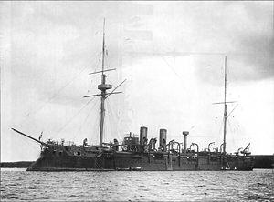 "Russian cruiser Admiral Kornilov (1887) - Imperial Russian cruiser ""Admiral Kornilov"""